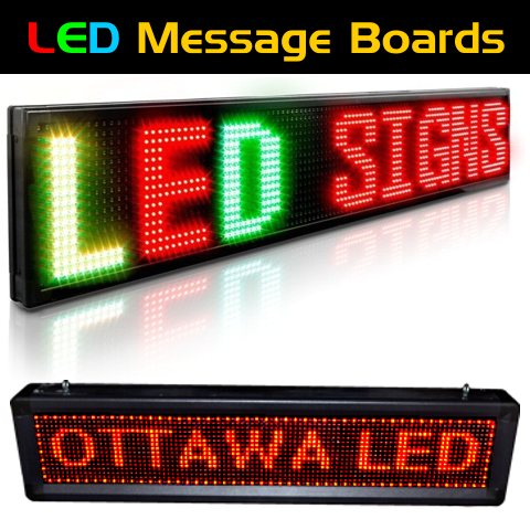 _LED Programable Message Boards