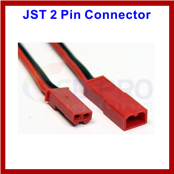 JST 2 Pin Connector Male and Female