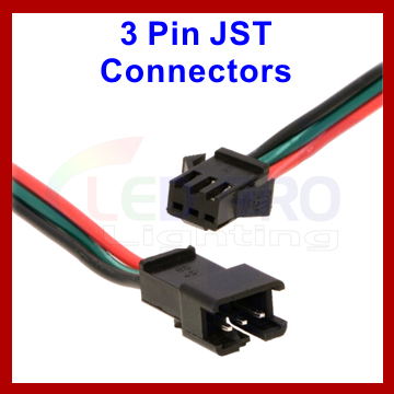 3 Pin JST Wired WS2811
