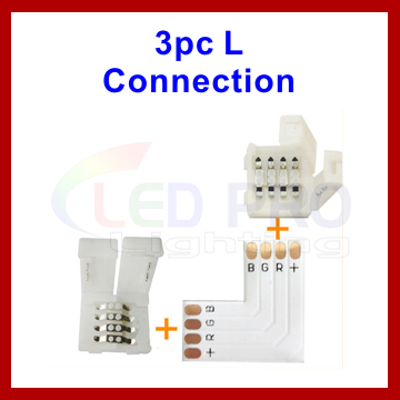 4 Pin PCB L Connector