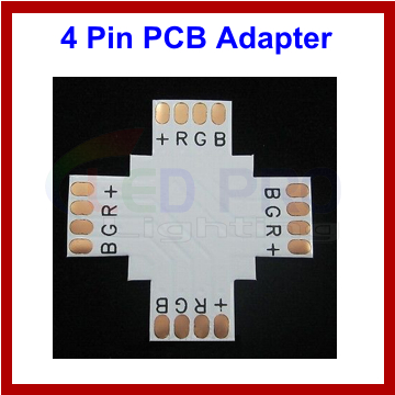 RGB 4 Pin PCB + Connector