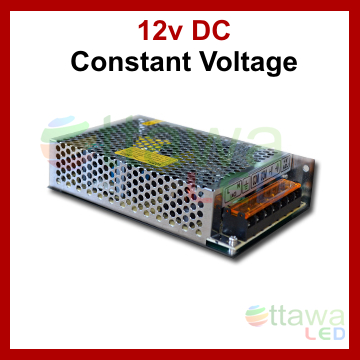 LED Driver Power Supply DC 12V 10A 120W cUL Listed - Ottawa LED