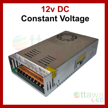 LED Driver Power Supply DC 12V 29A 350W cUL Listed - Ottawa LED