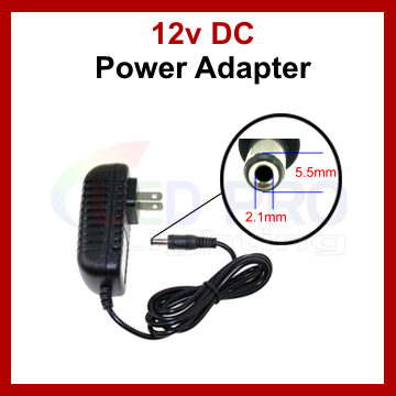 DC 12V 2A Power Supply UL/cUL Listed