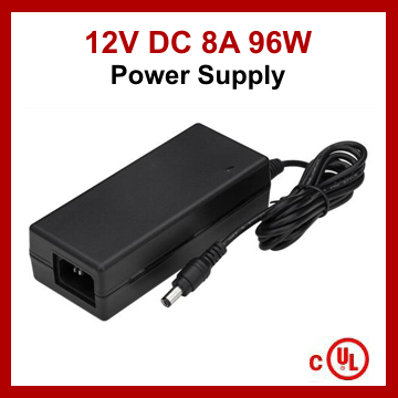 LED Driver Power Supply DC 12V 8A 96W cUL Listed - Ottawa LED