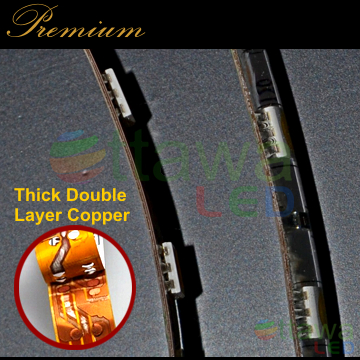 LED Strip Thick double Layer Copper - Ottawa LED