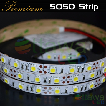 LED Strip 5050 300 Cool White CRI >90 cUL Listed - Ottawa LED UL Strips